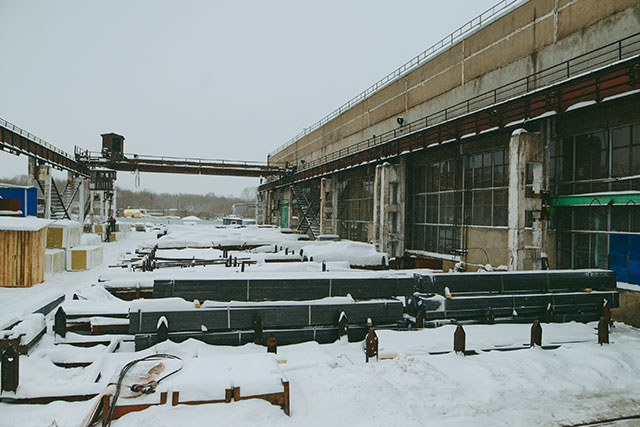 Завод изготовления металлоконструкций